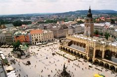 I desperately want to go back to Krakow, Poland, to eat pierogi and spend a few money to drink Walnut Vodka...
