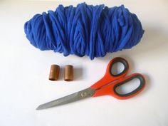 DIY Chunky Finger Knit Necklace