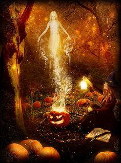 Halloween, Witch, Goblin, Black Cat, Jack-O-Lantern, Bat, Ghost, Spooky, Full Moon, Pumpkin, Trick or Treat, Autumn, Fall