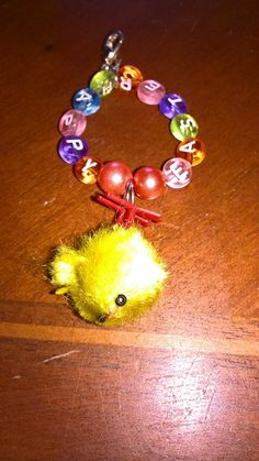 Happy easter! cute easter chick purse / bag / key charm! by PetitechicboutiqueGB on Etsy
