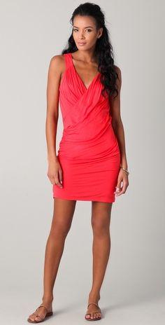 Velvet Harden Wrap Dress.
