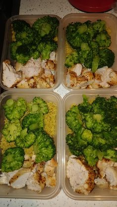 Lunch Meal Prep, Easy Meal Prep, Healthy Meal Prep, Healthy Dinner Recipes, Healthy Snacks, Healthy Eating, Food Calorie Chart, Chicken Couscous, Health Dinner