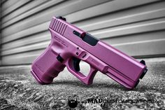 #PinkPearl to start out your Tuesday morning. This custom color looks even more amazing in person!  http://ift.tt/1yQDEDl  #cerakoteMADness #MADcustom #MADcustomcoating #cerakote #cerakotemafia #cerakotemilitia #cerakotemagic #gunsdaily #weaponsdaily #glock #glock19 #pink #pearl #pewpewlife #edc #everydaycarry #icarry #sickguns #glockmods #9mm @glockinc