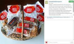 É maravilhoso ter clientes/fãs/amigas assim. Não nos conhecemos pessoalmente, mas parece que sim :-) A Joana do Whole Foods for my Soul recebeu a sua encomenda e partilhou connosco. Obrigada, Joana