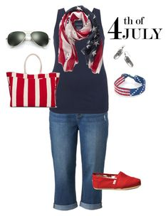 """""""Plus Size Americana Outfit"""" by jmc6115 on Polyvore"""