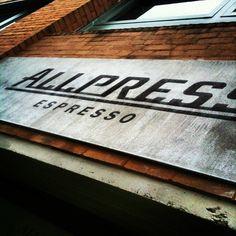 #allpress #espresso #logo #brand #coffee #roaster