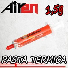 AIREN RedGrease - Pasta Termica PASTA TERMICA THERMAL COMPOUND CPU COOLER