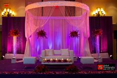 Indian wedding mandap ideas and inspiration. Wedding decor ideas for the indian ceremony Stage Decorations, Indian Wedding Decorations, Wedding Themes, Wedding Designs, Wedding Ideas, Indian Weddings, Wedding Goals, Wedding Locations, Wedding Details