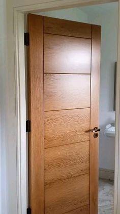 Flush Door Design, Single Door Design, Home Door Design, Wooden Front Door Design, Double Door Design, Bedroom Door Design, Wooden Front Doors, Oak Doors, Internal Wooden Doors