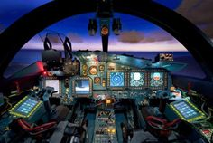 cockpit The Russians deemed it too complicated for one man, si they made it twin seated Military Jets, Military Aircraft, Su 34 Fullback, Sukhoi, Aircraft Design, Fighter Jets, Instagram, Helicopters, Airplanes