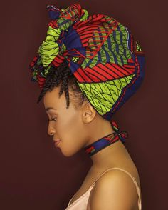 """here's to the wild women."" - @rupikaur_  Uchenna Choker Set Shop: ceeceesclosetnyc.com  #headwrap #headwraps #blackgirlmagic #protectivehairstyles #protectivestyling #protectivestyles #blackgirlskillingit"