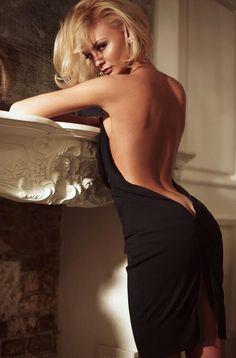 Honey.. wear your black dress.