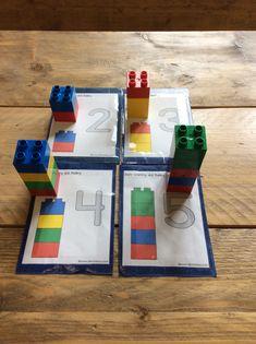 Tellen en bouwen met Duplo Too Cool For School, Homeschool, Crafts For Kids, Lego, Gift Wrapping, Math, Fun, Activities, Projects