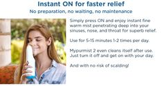 Mypurmist 2 - handheld ultrapure steam inhaler Turn Off, Health, Tips, Health Care, Salud, Counseling