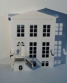 Ingrid Siliakus - House of art ~ paper art