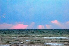 Sunrise through the clouds