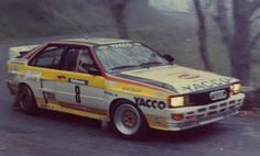 Audi 1983 & 1984 - At the Tour de Corse - Rallye de France is a rally first held in 1956 on the island of Corsica. It was the French round of the World Rally Championship from the inaugural 1973 season until 2008.