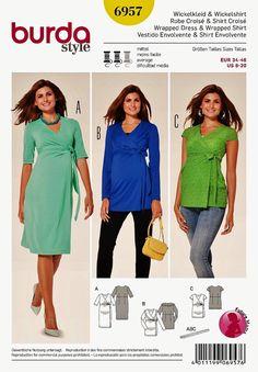 Maternity Dress Pattern  Maternity Top Pattern  Sz 8 to by blue510
