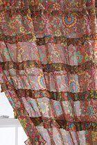Wildflower Ruffle Curtain  #UrbanOutfitters