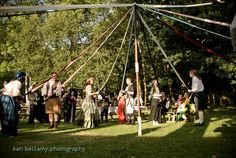 if in Summer... avoid the bride+groom first dance with a group maypole instead!