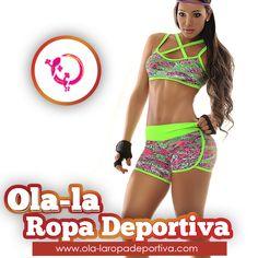 Usando Ropa deportiva Ola- La te puedes sentir cómoda y segura, ya que son prendas que te ofrecen grandes beneficios a la hora de practicar cualquier deporte. Nuestras telas se pueden estirar hasta un 40 por ciento sin perder la forma, ajustándose a tu cuerpo para permitirte movimientos con total liberta y flexibilidad.   http://www.ola-laropadeportiva.com/shorts-y-faldas-/48-conjunto-deportivo-short-top-estampados.html  #Fitness #Moda #Color #Comodidad #Calidad #Diseño