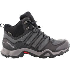 e87c0955aefce Adidas Outdoor - Terrex Swift R Mid GTX Hiking Shoe - Men s - Dark Grey