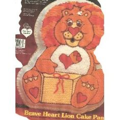 Wilton Brave Heart Lion Cake Pan 21053197 1984 American Greetings * Find out more about the great product at the image link. (This is an affiliate link) Cake Pan Sizes, Lion Cakes, American Greetings, Braveheart, Baking Supplies, Cake Pans, Baking Pans, Teddy Bear, Shapes