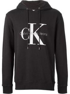 Calvin Klein Jeans Logo Print Hoodie - Voo Store - Farfetch.com Calvin  Klein Hoodie be97adc11