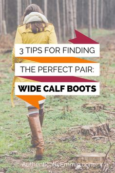 Have trouble finding boots to fit your wider calves? Here's how to find them!