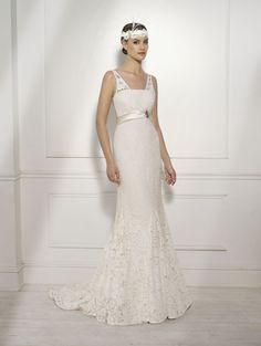 """Pekin"" #WeddingDress by Novia D'Art, 2014 Collections. www.noviadart.com"