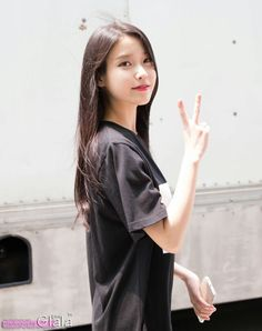 Uploaded by princess. Find images and videos about kpop, iu and lee ji eun on We Heart It - the app to get lost in what you love. Kpop Girl Groups, Kpop Girls, Korean Celebrities, Celebs, Korean Girl, Asian Girl, Iu Twitter, Eun Ji, Iu Fashion