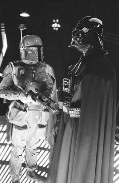 Star Wars - lord vader & the bounty hunter boba fett Images Star Wars, Star Wars Pictures, Anakin Vader, Darth Vader, Cyberpunk, Cuadros Star Wars, Star Wars Cast, War Film, Star Wars Wallpaper