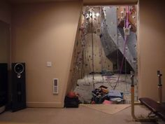 in home climbing gym