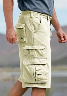 b4a311bfda0 Amazon.com  Boulder Creek Big   Tall Side Elastic Ranger Cargo Shorts   Clothing
