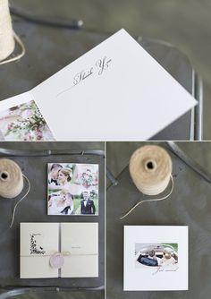 Dankeskarte, Danksagung Hochzeit, vintage, schlicht, rosa, von Anmut und Sinn