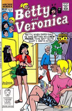 Betty and Veronica comic books Archie Comics Riverdale, Archie Comic Books, Comic Book Characters, Ghibli, Dan Decarlo, Romantic Comics, Archie And Betty, Betty And Veronica, Retro Pop