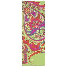 Gaiam Yoga Mat - Classic Print Thick Non Slip Exercise & Fitness Mat for All Types of Yoga, Pilates & Floor Workouts x x Yoga Mat Reviews, Mat Online, Floor Workouts, Types Of Yoga, Mat Exercises, Yoga Routine, Women Brands, Latex Free, Color Pop