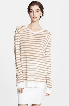 T by Alexander Wang Lightweight Stripe Sweater available at #Nordstrom