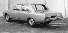 OG | Simca / Chrysler 160/180 - Project 929 XA | Prototype designed by Simca