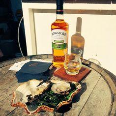 #ScottishInvasion Bowmore & Oyster Masterclass