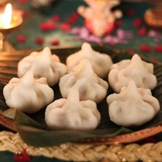 Ukadiche Modak - Modak is a sweet dumpling filled with coconut and jaggery. It is an authentic Indian dessert!