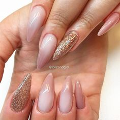 21 Awesome Pink and Gold Nails Designs Every Girl Should Try Gold Nail Designs, Beautiful Nail Designs, Pink Gold Nails, Pink And Gold, Sweet 16 Nails, Nail Designs Pictures, Glitter Nail Art, Nail Arts, Things To Come