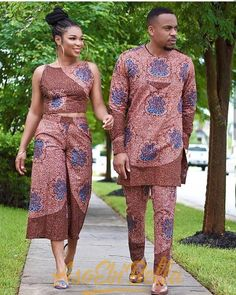 68 Edition Of - Best Trendy Aso Ebi Style Lace & African Print Outfits For the week Couples African Outfits, African Wear Dresses, African Clothing For Men, African Wedding Dress, African Shirts, Latest African Fashion Dresses, Couple Outfits, African Print Fashion, African Attire
