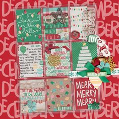 A Christmas Tale Pocket Life Holiday Collection by Traci Reed 10080 Minutes Slip Ins by Traci Reed digital scrapbooking layout, mistyhilltops.com