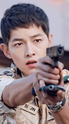 Descendants of the Sun-Kdrama_id-Song Joong-ki_Subtitle-Indonesia_ Song Hye Kyo, Song Joong Ki Dots, My Shy Boss, Soon Joong Ki, Decendants Of The Sun, Les Descendants, Sun Song, Songsong Couple, Song Play