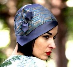 Cloche Hat from neckties