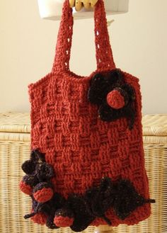 Forest Floor Tote Bag - Perfect for stashing your hat and scarf when you go inside!