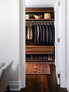 Top 100 Best Closet Designs For Men - Part Two Walk In Closet Design, Wardrobe Design, Closet Designs, Master Closet, Closet Bedroom, Closet Space, Closet Wall, Walking Closet, Dressing Room Closet