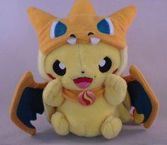 Pokemon Center Mega Tokyo Limited Pikachu Mascot Plush Stuffed Toy Key Chain #PokemonCenter