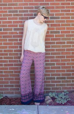 """Patterned """"fancy pants"""" - how to style them 